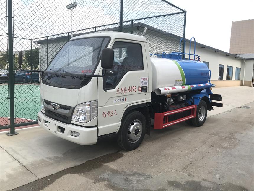 国六2方福田蓝牌洒水车程力厂家大量现货批发价出售